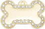 Dolce Small Bling Bone Pet Tag