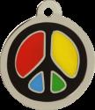 Peace Pet Tag