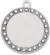 Lulu Bling Round Pet Tag