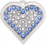 Charlie Bling Heart Pet Tag