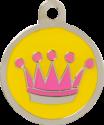 Crown Pet Tag
